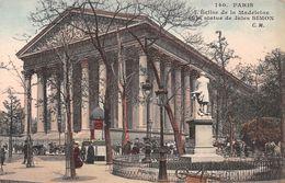 Paris - L'Eglise De La Madeleine Et La Statue De Jules Simon - Eglises