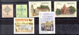 Lituania Series Completas Nº Yvert 792/93-794/95-798-799 ** Valor Catálogo 6.7€ - Lituania