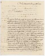 Franchise Labaroche 1791 Sujet : 'Curé' - 1701-1800: Précurseurs XVIII