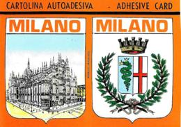[MD4135] CPM - MILANO - CARTOLINA AUTOADESIVA AUTOADESIVE KARTE AUTOADESIVE CARD CARTE AUTOADESIVE - PERFETTA - NV - Cartes Postales