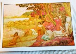 VAN RYSSELBERGHE... BAIGNEUSES A SAINT TROPEZ - Malerei & Gemälde