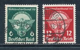 Deutsches Reich 689/90 Gestempelt Mi. 10,- - Gebraucht