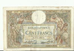 Billet De Cent Francs   1930 BON ETAT - 1871-1952 Antichi Franchi Circolanti Nel XX Secolo