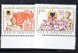 XP3966 - ALBANIA 1979 , Yvert Serie N. 1817/1818  ***  Permet - Albania