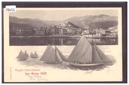 SAN REMO - REGATE INTERNAZIONALI 1903 - TB - San Remo