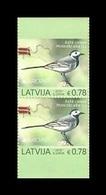 Latvia 2019 Mih. 1072D Europa. National Birds. Fauna. White Wagtail MNH ** - Letonia