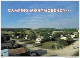 Carte Postale 52. Bourbonne-les-bains  Le Camping Montmorency Très Beau Plan - Bourbonne Les Bains