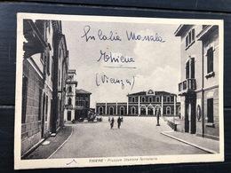 THIENE PIAZZALE STAZIONE FERROVIARIA  1942 - Vicenza