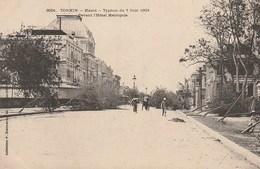 Tonkin -hanoi -  Typhon Du 7 Juin 1903 - Devant L'hôtel Métropois - Vietnam