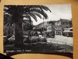 Q1002 CARTOLINA  Di BATTIPAGLIA SALERNO  VIAGGIATA  BUS CORRIERA - Battipaglia