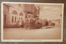 C. P. A. : TURQUIE :AINTAB After The Bombing, Horses,  AINTAB Après Le Bombardement, Chevaux, Animé, En 1926 - Turkije