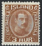 Iceland Island 1931. Mi 157, MNH - 1918-1944 Unabhängige Verwaltung