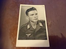 Photo Portrait Militaire Allemand - Guerre, Militaire