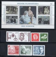 Svezia 1981 Mi. 1166-1177 Nuovo ** 100% Artigiano, Film, Natale, Nobel - Nuovi