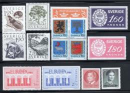 Svezia 1984 Mi. 1267-1281 Nuovo ** 100% Natura, Stemmi, Cept, Re - Nuovi