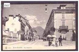 DOMODOSSOLA - VIA SEMPIONE - TB - Altre Città
