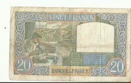 Billet De VINGT FRANCS FE 8.5.1941    BON ETAT - 1871-1952 Antichi Franchi Circolanti Nel XX Secolo