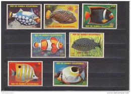 Guinea Ecuatorial Nº Michel 1469 Al 1475 - Guinea Ecuatorial