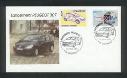 Sochaux  Lancement De La Peugeot 307 Le 25 Avril 2001 - Voitures