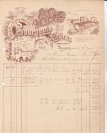 Nouzon (Ardennes) - Bourgeois Frères - Ferronnerie Serrurerie (1907) - 1900 – 1949