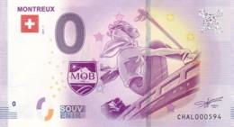 Suisse - Billet Touristique / Souvenir 0 €uro - 2017 /  MONTREUX . - EURO