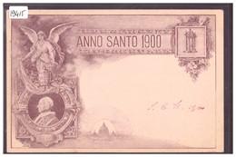 ANNO SANTO 1900 - TB - Italia
