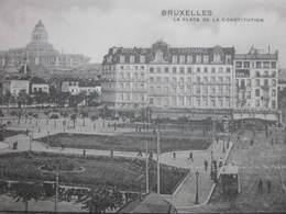 BRUXELLES Brussel : Place De La Constitution - Non Classés