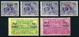 Guayana (Francesa) Nº 91/6 Nuevo* Cat.52,40€ - Unused Stamps