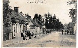 Allier DIOU Carte-photo - Francia
