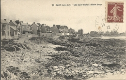 44   BATZ  SUR  MER  LA  COTE  SAINT  MICHEL A  MAREE  BASSE - Batz-sur-Mer (Bourg De B.)
