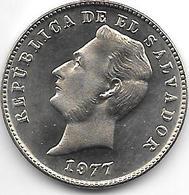 * El Salvador 10 Centavos  1977 Km 150a  Proof !!!!!catalog Val. 40,00$ - El Salvador