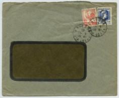 Types Coq Et Marianne Perforés CN / Enveloppe 1945 Comptoir National D'Escompte De Brioude . - France