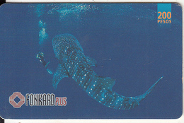 PHILIPPINES(chip) - Whale Shark, Chip CHT10, Exp.date 31/12/00, Used - Philippines