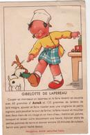 CPA - Carte  Lapin  Humour   - Recette Lapereau - Béatrice Mallet - Dieren
