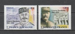 FRANCE / 2018 / Y&T N° 5288/5289 ** : Roumanie-France (2 TP Général Berthelot) X 1 - Francia