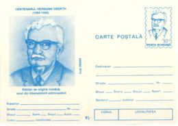 929  Hermann Oberth, Vol Spacial, Fusée, Navigation Interstellaire - Astronautics Rocket Astronomy Physics - Cartas