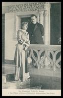 PORTUGAL-MONARQUIA-Sua Magestade El Rei D.Manuel E Sua Alteza A Princeza Victoria De Hohenzollern Sua Noiva. C. Postale - Autres