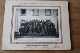 Photographie Militaire  EOR  De L'école Militaire  De L'Infanterie  Et Des Chars De Combat  1935 - Guerre, Militaire