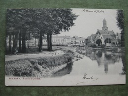 LOKEREN - VUE SUR LE CLOCHER 1904 - Lokeren