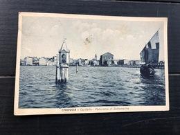 CHIOGGIA CAPITELLO PANORAMA DI SOTTOMARINA  1932 - Venezia (Venice)