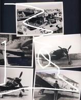 Luftwaffe Flugzeug 1945 Beute Fw 190 GIs  Repros - Aviation