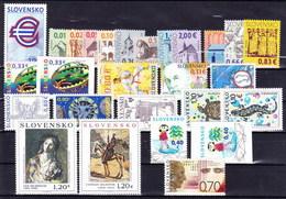** Slovaquie 2009 Mi 586-627, (MNH) L'année Complete - Slovakia