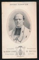 LITHO - SA GRANDEUR MONSEIGNEUR - GUSTAVE LEONARD DE BATTICE - GENT 1839 - GROOTENBERGE 1889 - Overlijden