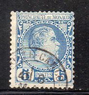 Y788 - MONACO 1885 , Unificato N. 3 Usato - Monaco