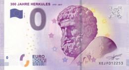 Allemagne - Billet Touristique / Souvenir 0 €uro - 2017 /  300 JAHRE HERKULES . - EURO