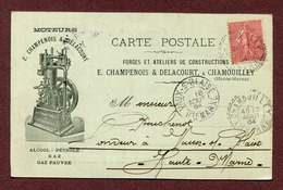 """CHAMOUILLEY  (52) : """" FORGES Et ATELIERS CHAMPENOIS & DELACOURT """" - Frankrijk"""