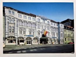 """Circulated Postcard, Mülheim An Der Ruhr, Germany """"Hotels"""" - Deutschland"""