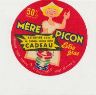 W 562  / ETIQUETTE  FROMAGE   FONDU  POUR TARTINE   CADEAU  MERE PICON - Käse