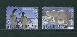 Zegels 3884 - 3885 Gestempeld - Belgique