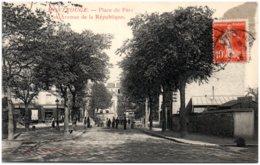 92 MONTROUGE - Place Du Parc Et Avenue De La République - Montrouge